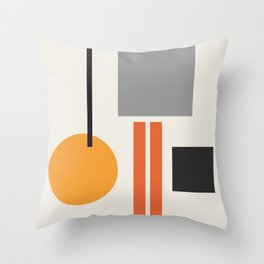Mid Century 05 Throw Pillow