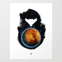 metroid Art Prints featuring Metroid Prime by Ian Wilding