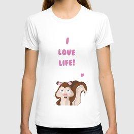 I love live T-shirt