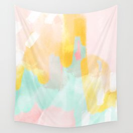 Soft Pastel summer abstract Wall Tapestry