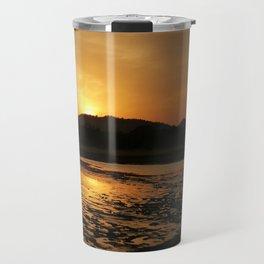 Sunset at Minneriya National Park Sri Lanka Travel Mug