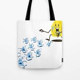 Sponge Attack! Tote Bag