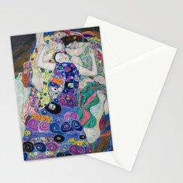 The Maiden Gustav Klimt Stationery Cards