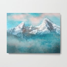 MOUNTAIN SCAPES | Watzmann Metal Print