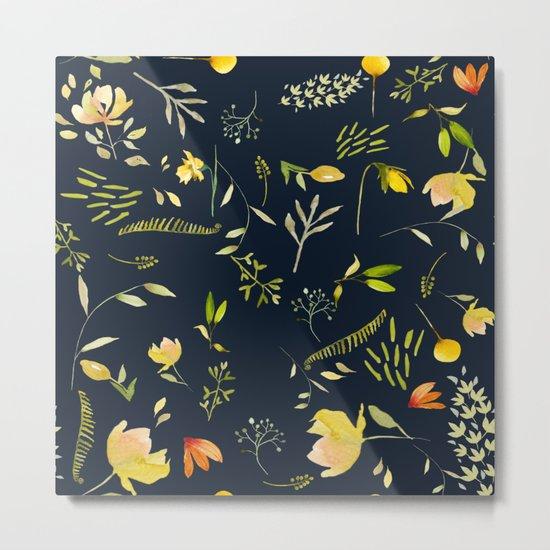 Yellow garden Metal Print