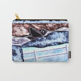 Rough Sea Carry-All Pouch