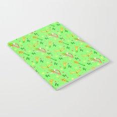 Sailor Jupiter Pattern / Sailor Moon Notebook