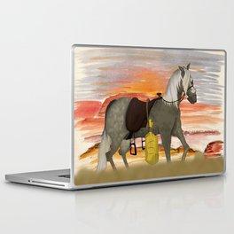 SenditBack - Greyfox's horse Laptop & iPad Skin
