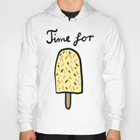 popsicle Hoodies featuring Popsicle by Ena Jurov