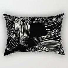 looking for darkness Rectangular Pillow