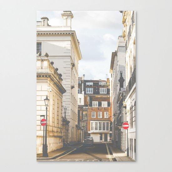 Vintage London Canvas Print