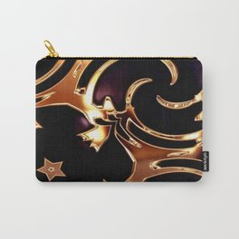 Wrap it up, Blue and Gold Carry-All Pouch
