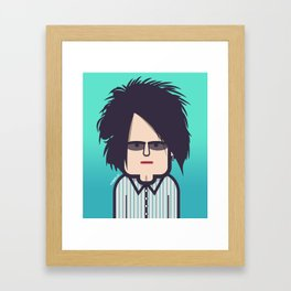 Robert Smith (The Cure) Lullaby Framed Art Print