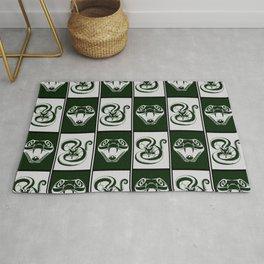 Slytherin Checkerboard Rug