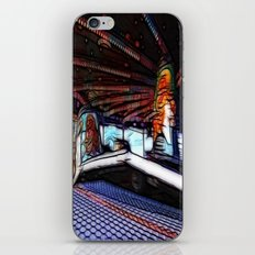 Ride on time! iPhone & iPod Skin