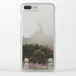 Tian Tan Buddha Clear iPhone Case