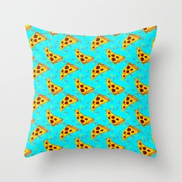 Pizzixel Throw Pillow