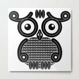 Owl VWB Metal Print