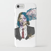 gore iPhone & iPod Cases featuring Kurt Gore Cobain by Alexalco5