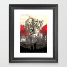 Fallout Variant poster Framed Art Print