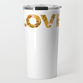 Love Happy Valentines Day Lovers Hearts Day Travel Mug