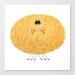 Poofy Snafiss Canvas Print