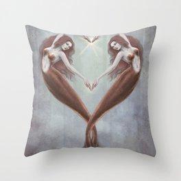 Heart Dance Throw Pillow