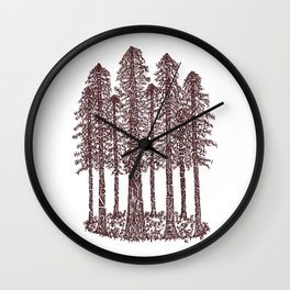 Cathedral ring sketch Wall Clock