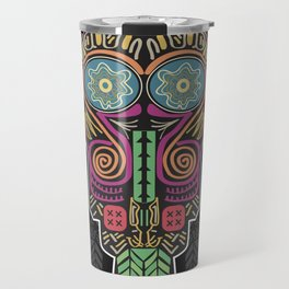 Boho Mask Travel Mug