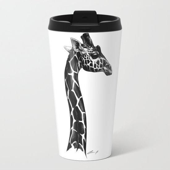 Giraffe Travel Mug by simkaye | Society6