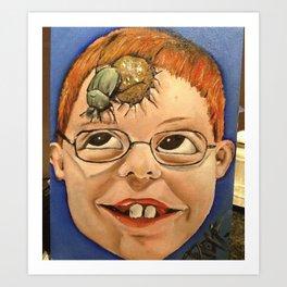 sh%&t head Art Print