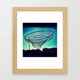 God's Uterus Framed Art Print