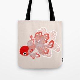 Red cap Oranda Tote Bag