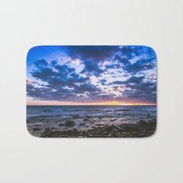 Sunset rock landscape Bath Mat