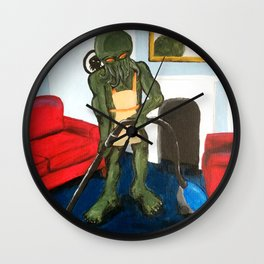 Cthulu doesn't do gender roles. Wall Clock