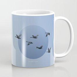 [4.10—4.14] Wild Geese Fly North Coffee Mug