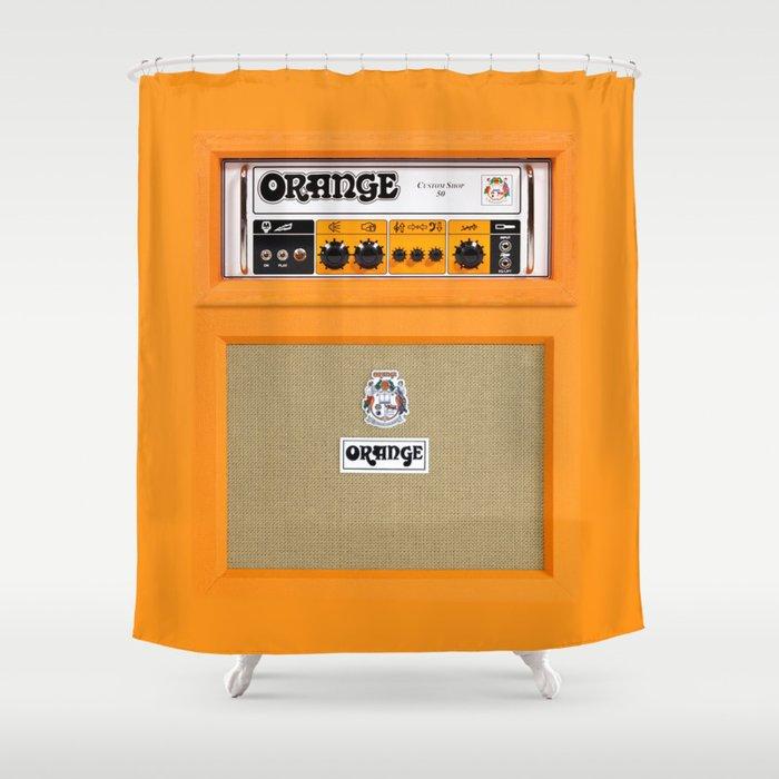 orange and grey shower curtain. Retro Orange Guitar Electric Amp Amplifier IPhone 4 4s 5 5s 5c  Ipad Tshirt