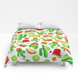 Fiesta Tacos Comforters