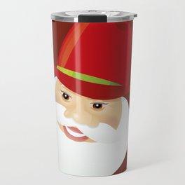 Santa Claus. Cowboy. Travel Mug