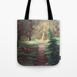 Warm Autumn day Tote Bag