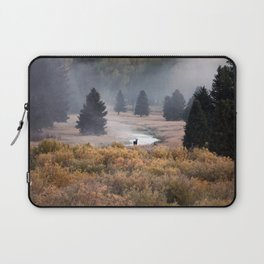 Moosey Misty Morning Laptop Sleeve