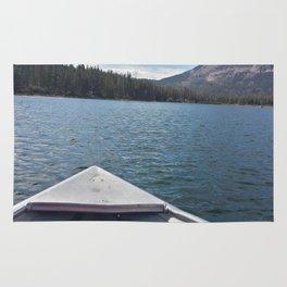 Fishing on Lake Mary Rug