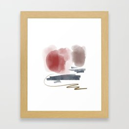 Introversion IX Framed Art Print