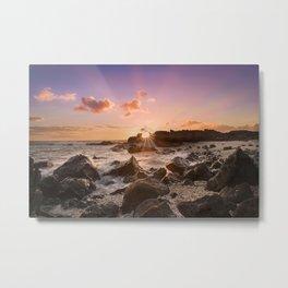 Splash of Sunset Metal Print