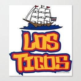 Costa Rica Los Ticos ~Group E~ Canvas Print