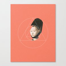 NOT Portrait of a Young Girl Canvas Print