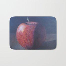 Apple in photo realism Bath Mat