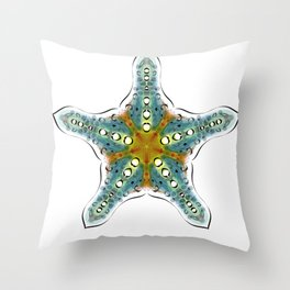 Fishtales: Starfish 4 Throw Pillow