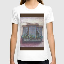 European Window Box AC150531-13 T-shirt