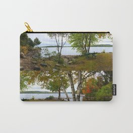 Autumn in Belgrade, Maine (3) Carry-All Pouch